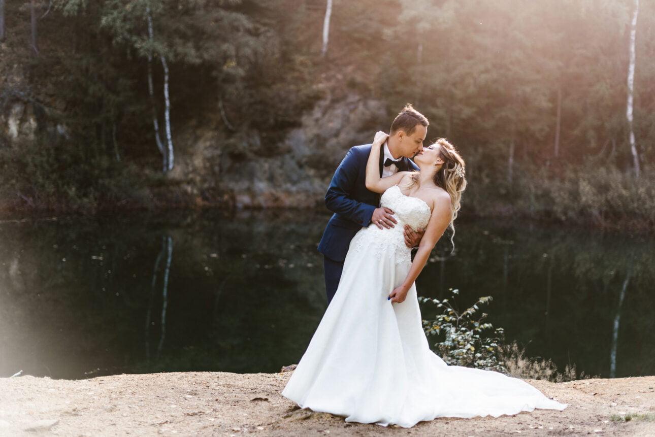 plener ślubny kolorowe jeziorka