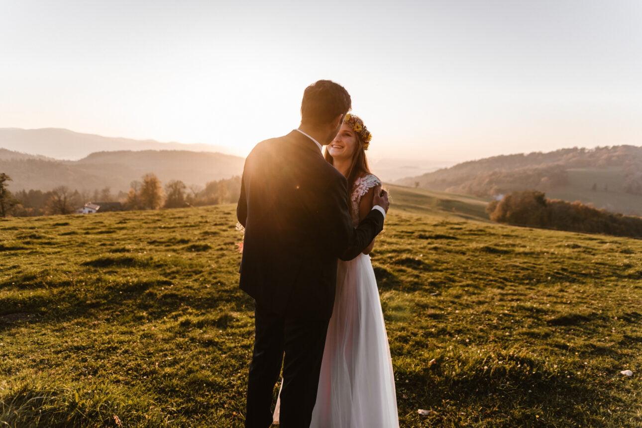 plener ślubny wWiśle