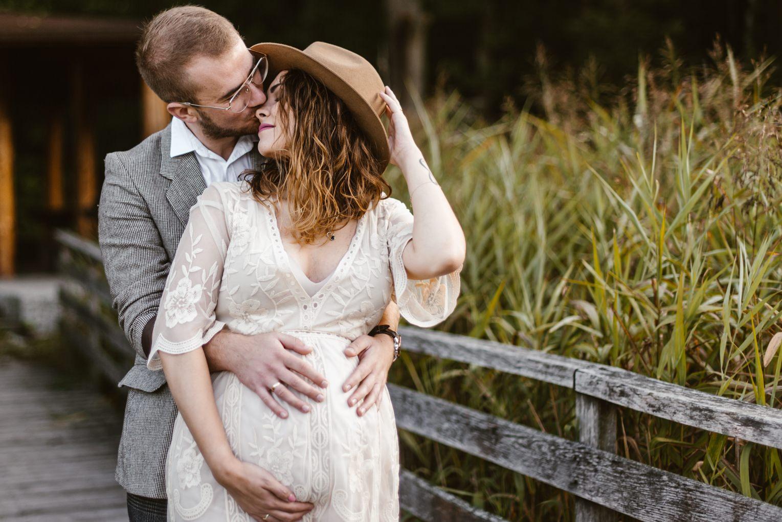 naturalna sesja ciążowa śląsk