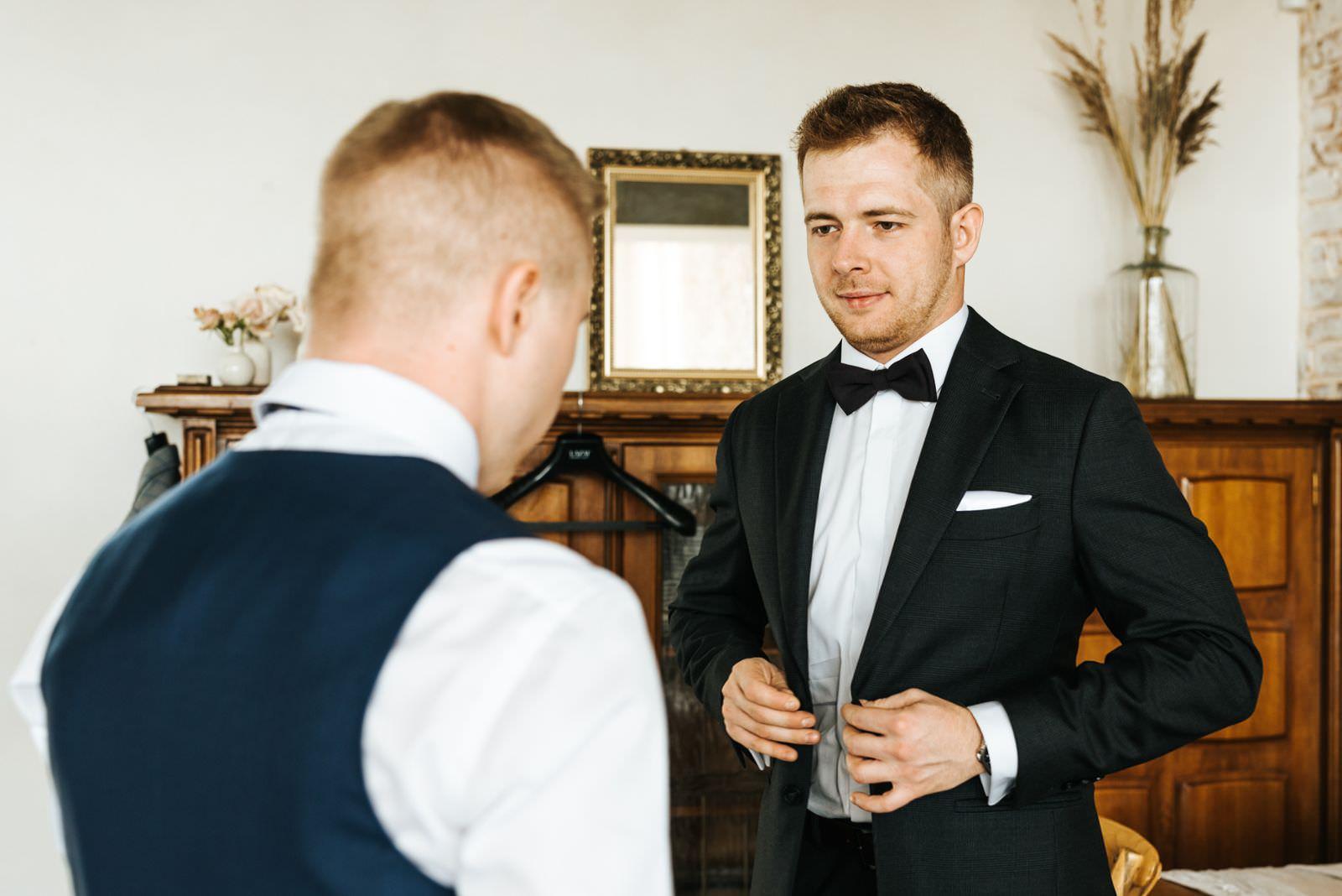 przygotowania doślubu Villa Love